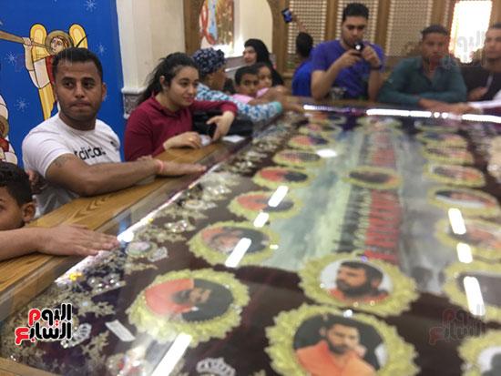 صور مقبره شهداء اقباط المنيا (15)