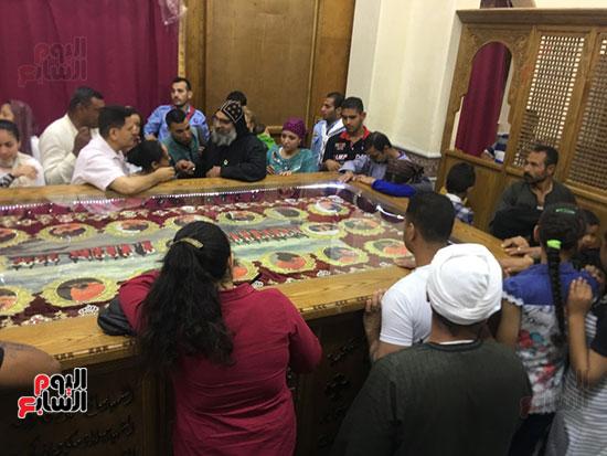 صور مقبره شهداء اقباط المنيا (13)