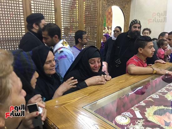 صور مقبره شهداء اقباط المنيا (16)
