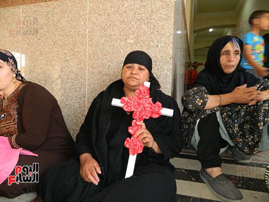 صور مقبره شهداء اقباط المنيا (30)