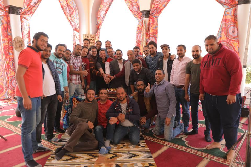 """الإحتفال بإنتهاء تصوير برنامج """"رمضان بعيونهم"""" مع علي الكشوطي"""