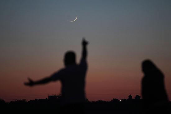 هلال-الشهر-فى-الأراضى-الفلسطينية