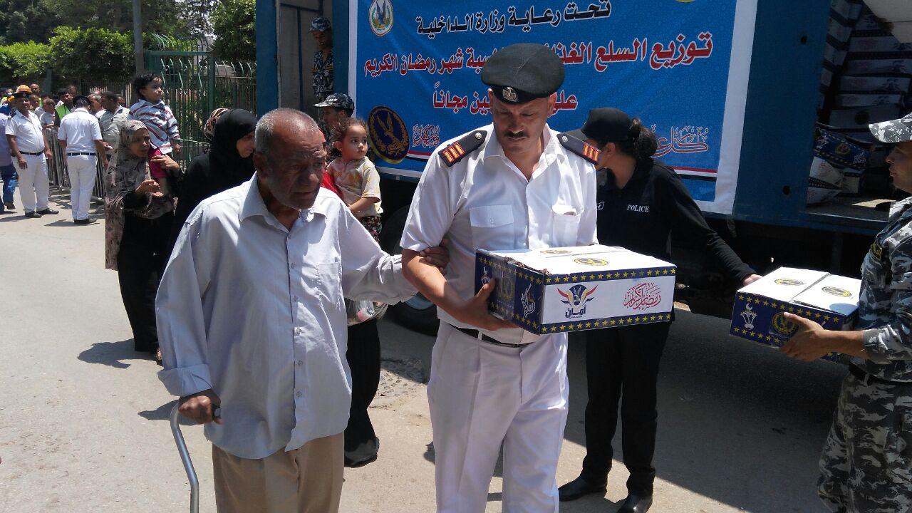 تقديم السلع الغذائية للمواطنين قبل رمضان