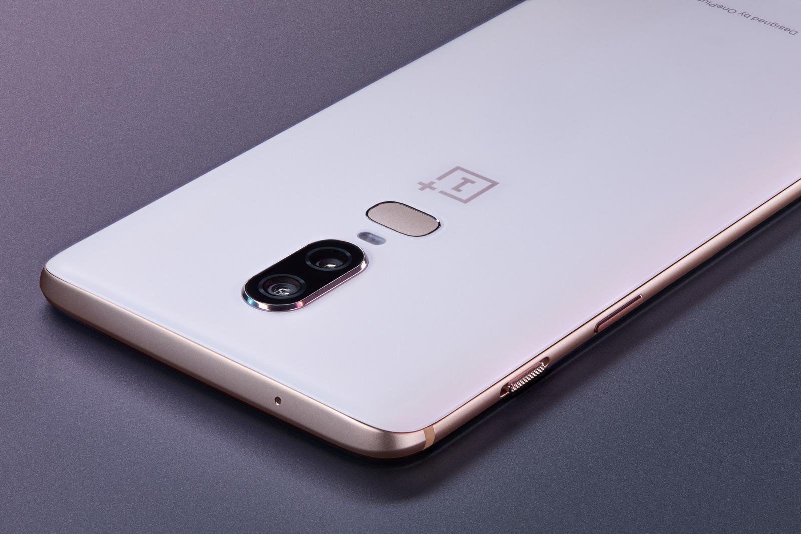تصميم OnePlus 6