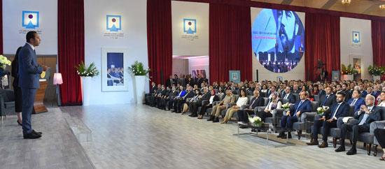 مؤتمر الشباب بمشاركة الرئيس السيسى (12)