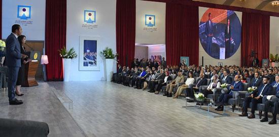 مؤتمر الشباب بمشاركة الرئيس السيسى (10)