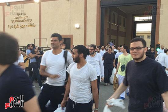 الداخلية تفرج عن 332 سجينا بموجب العفو الرئاسى (6)