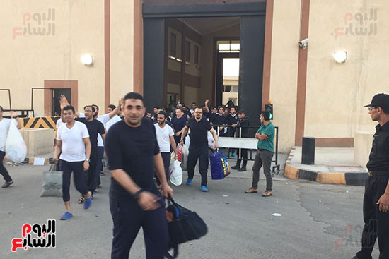 الداخلية تفرج عن 332 سجينا بموجب العفو الرئاسى (5)