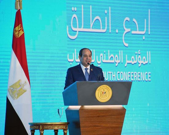 مؤتمر الشباب بمشاركة الرئيس السيسى (9)