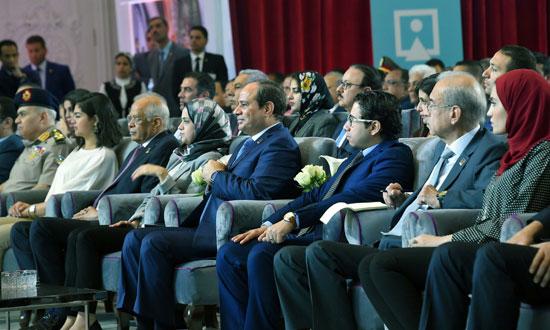 مؤتمر الشباب بمشاركة الرئيس السيسى (8)