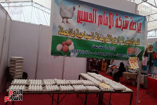 بيع بيض داخل معارض أهلا رمضان