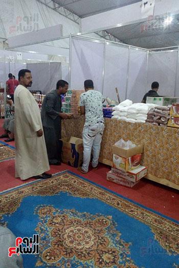 معارض أهلا رمضان خلال تقديم المنتجات للجمهور