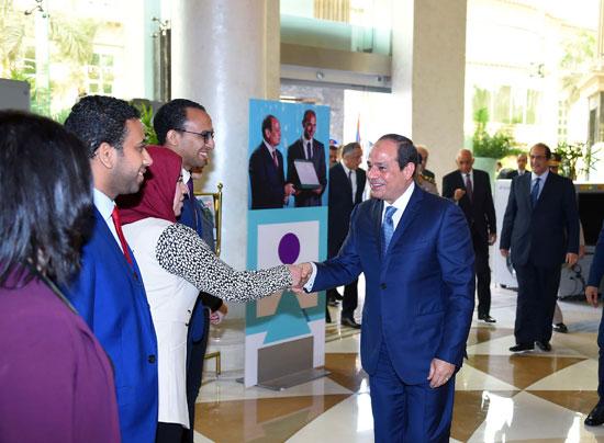 مؤتمر الشباب بمشاركة الرئيس السيسى (6)