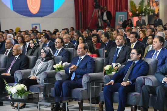 مؤتمر الشباب بمشاركة الرئيس السيسى (7)