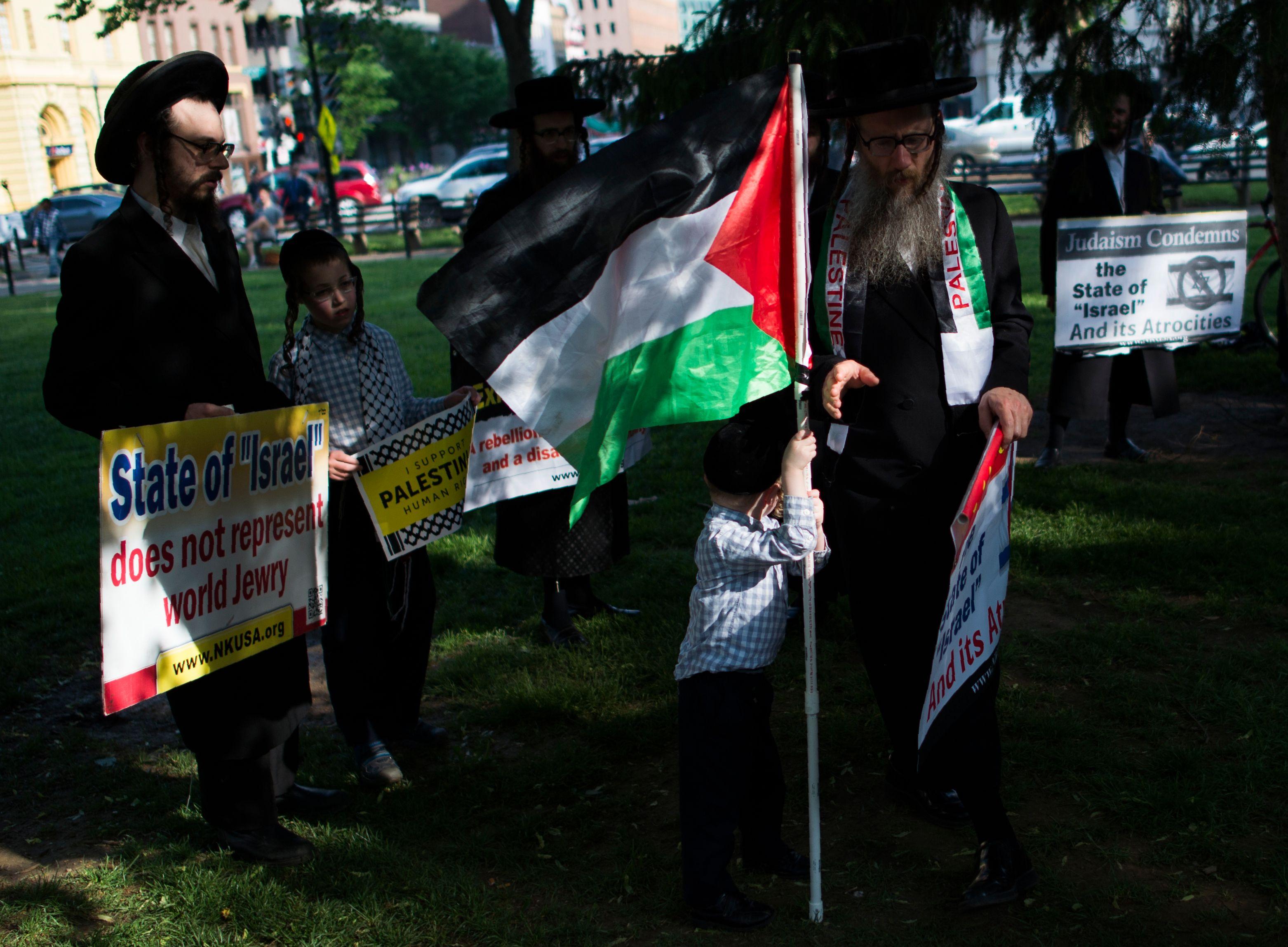 مظاهرات اليهود في أمريكا