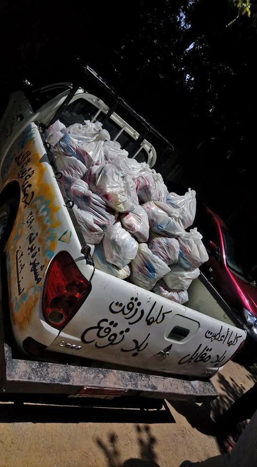 تجهيز شنط جمعية نوبة الخير