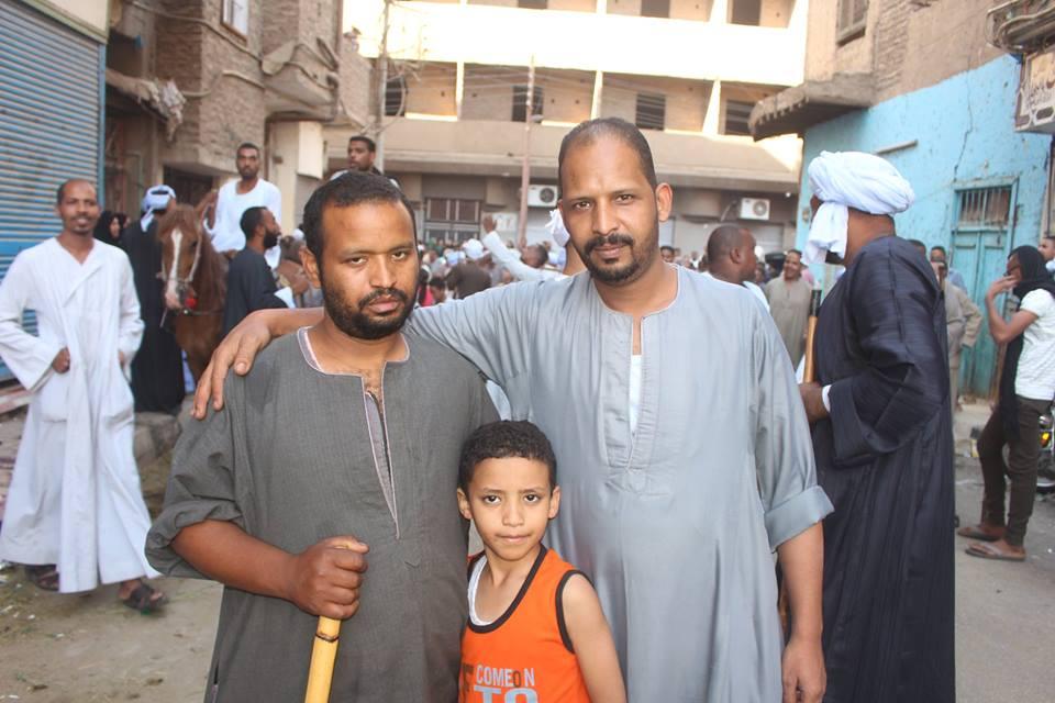 أهالي مدينة الاقصر وإسنا يخرجون في دورة رمضان بمواكب إحتفالية (9)