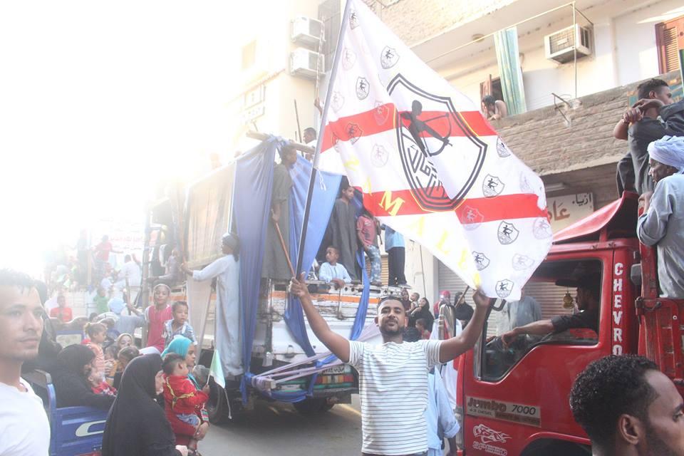 أهالي مدينة الاقصر وإسنا يخرجون في دورة رمضان بمواكب إحتفالية (6)