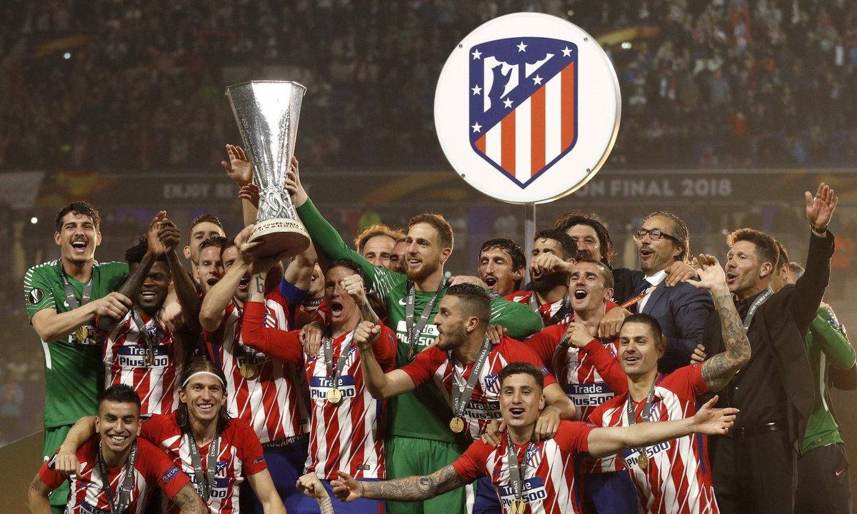 تتويج أتلتيكو مدريد بالدورى الأوروبى (2)