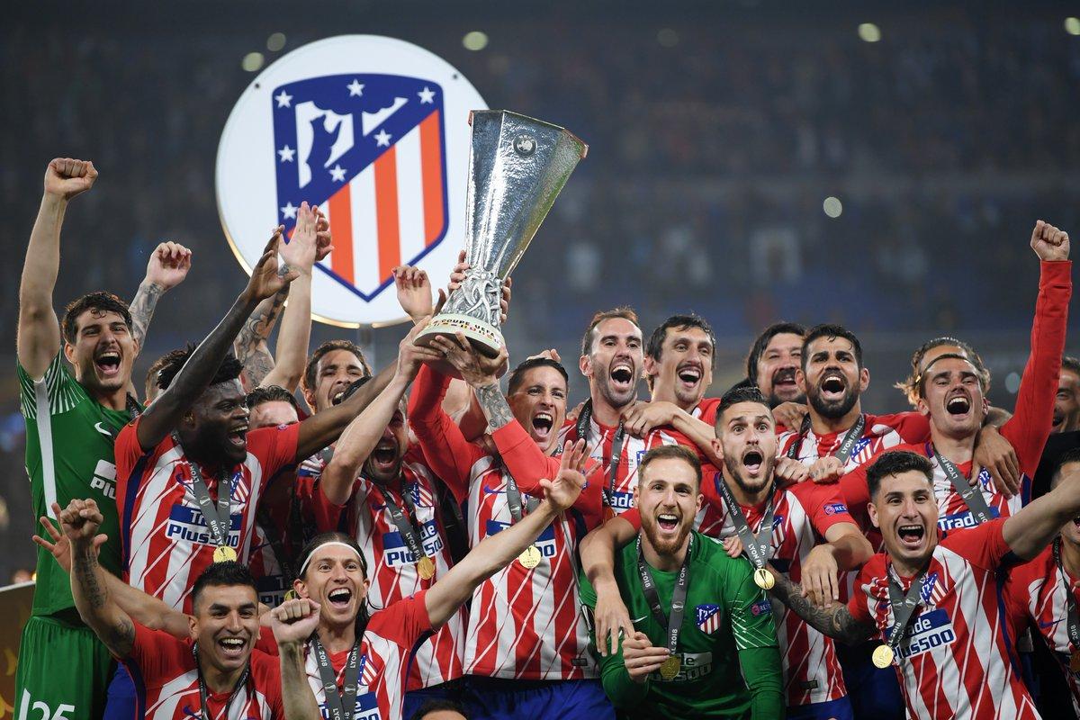تتويج أتلتيكو مدريد بالدورى الأوروبى (5)