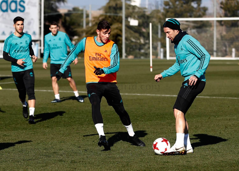 راموس فى تدريبات ريال مدريد
