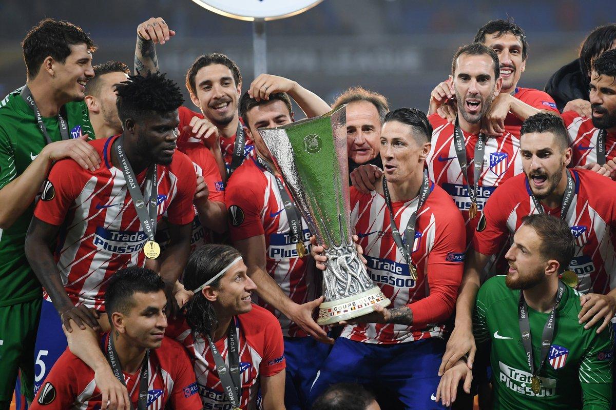 تتويج أتلتيكو مدريد بالدورى الأوروبى (6)