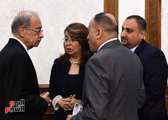 صور اجتماع مجلس الوزراء (2)