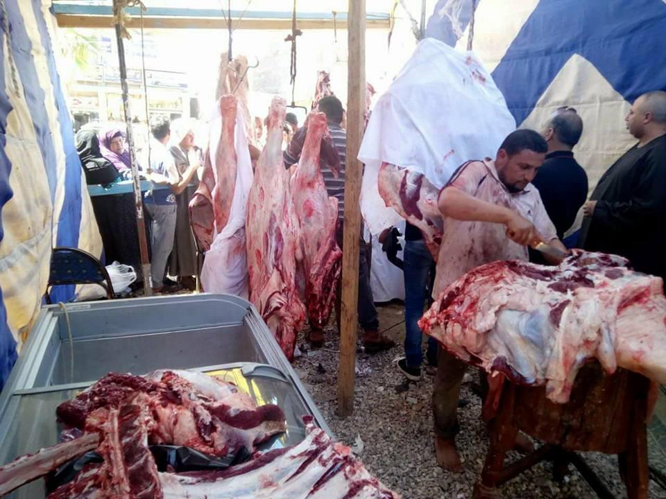 توفير السلع الغذائية بمعرض اهلا رمضان