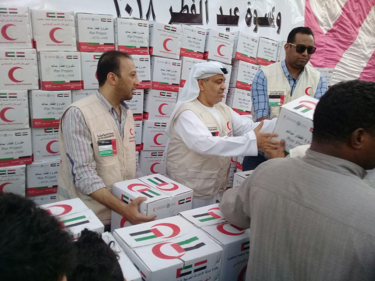 توزيع كرتونة رمضان  (3)