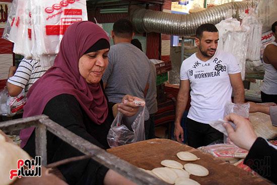 إقبال المصريين على الكنافة والقطايف (9)