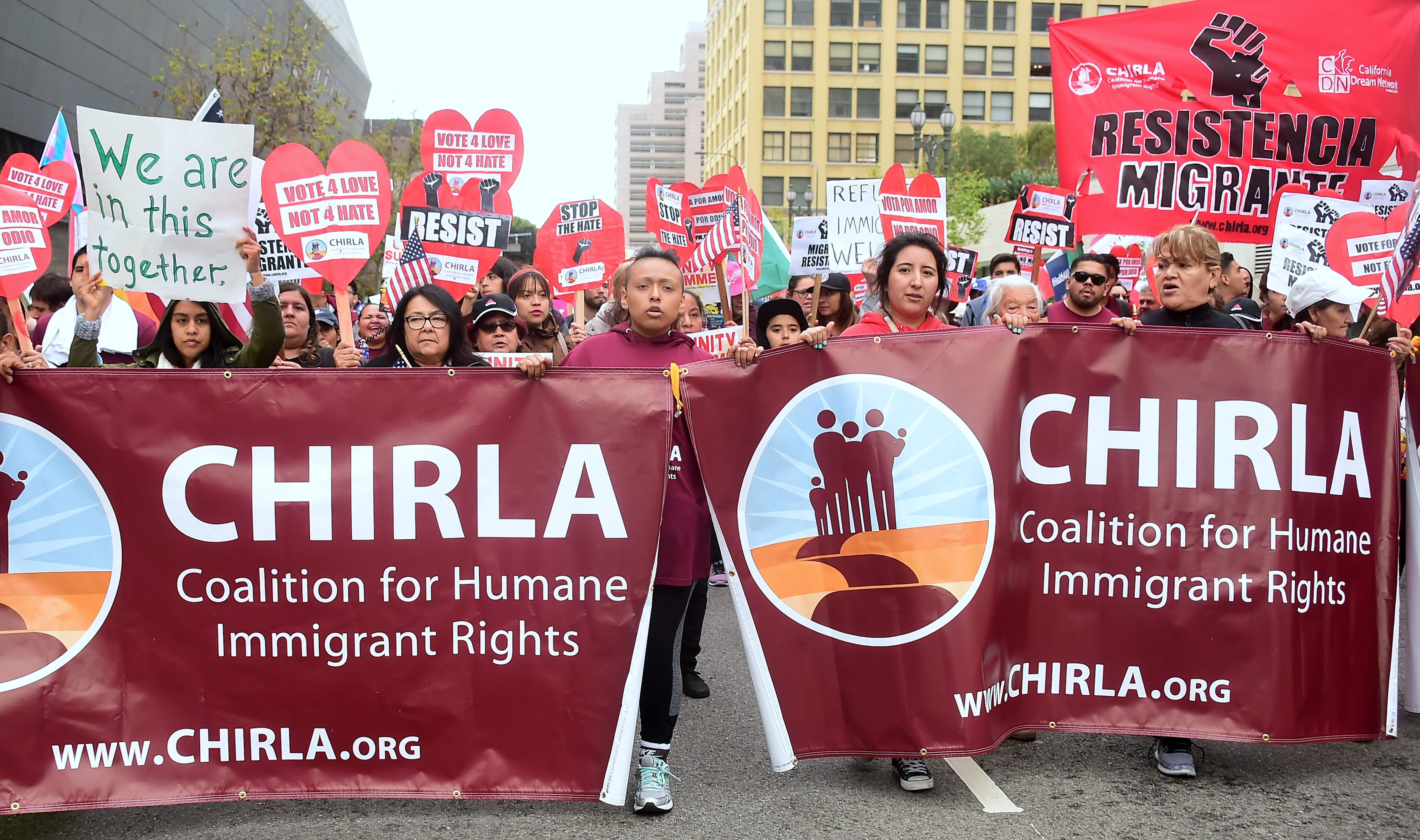 مسيرات العمال فى أمريكا