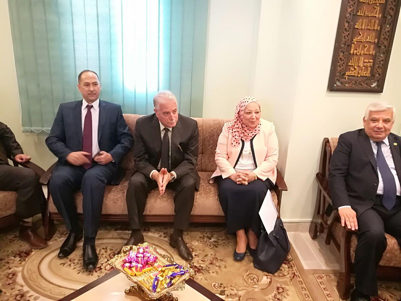 رئيس هيئة النيابة الادارية ومحافظ جنوب سيناء