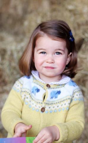 الأميرة فى عيد ميلادها الثانى