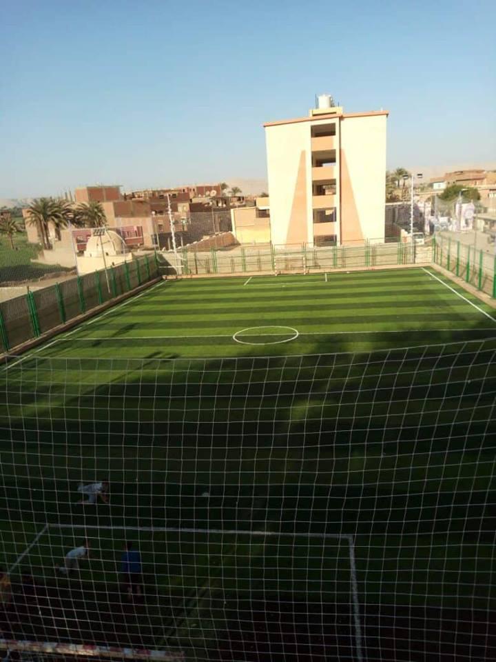 الانتهاء من إنشاء الملعب