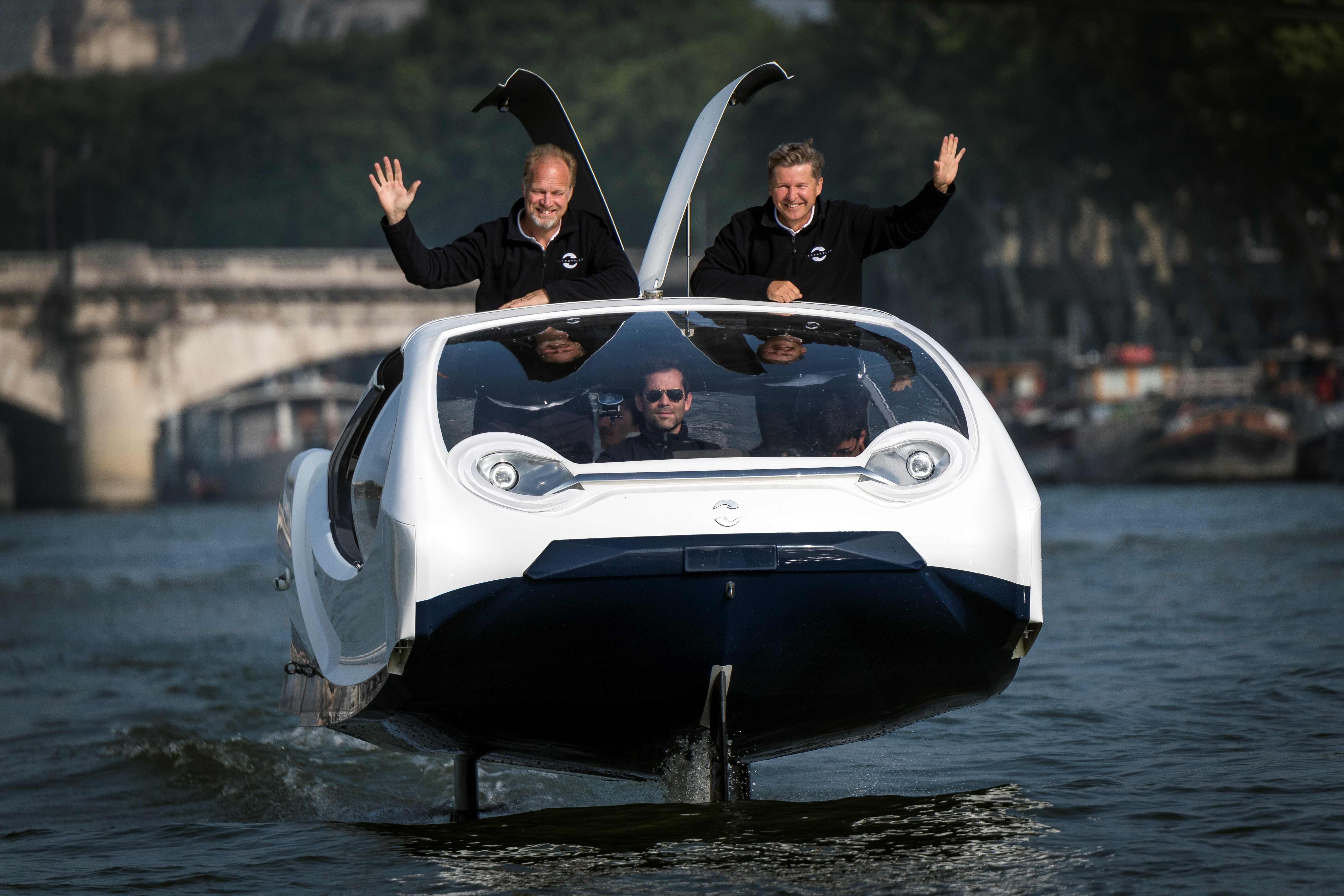 مهندسو تطوير النقل البحرى فى فرنسا