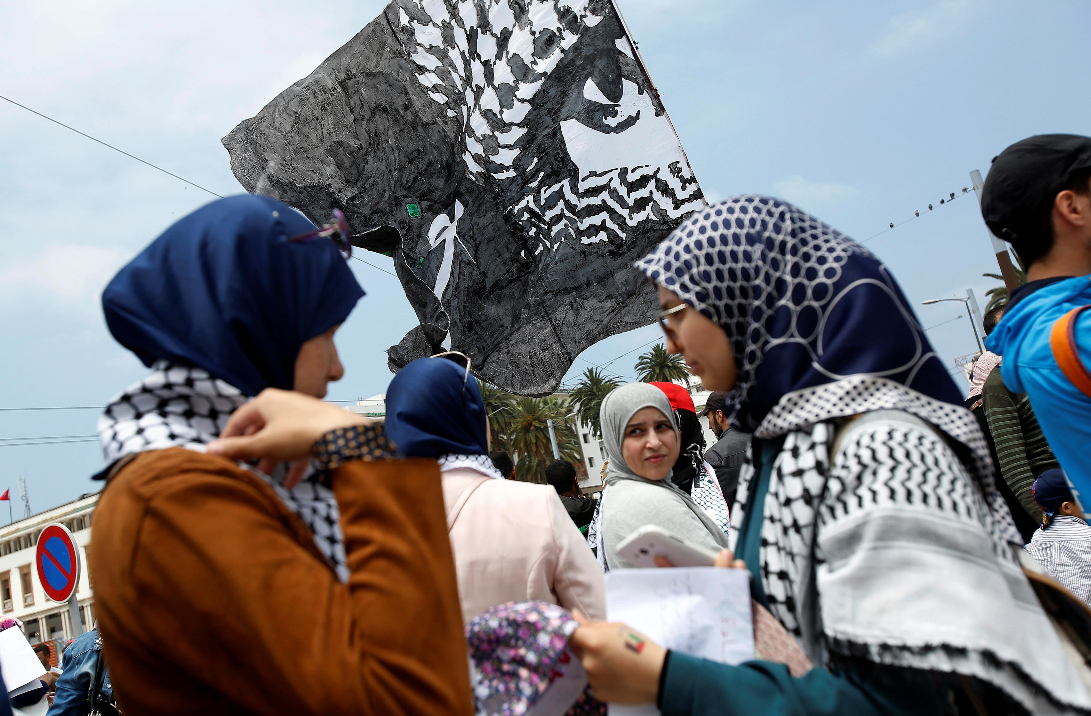 جانب من مظاهرات المغرب