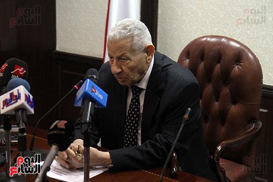 مكرم محمد أحمد رئيس المجلس الأعلى لتنظيم الإعلام (5)