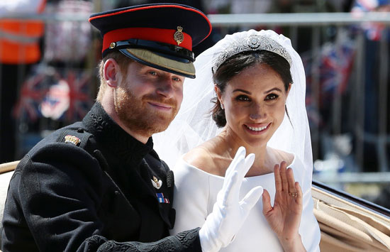 5 حاجات متخليهاش تفوتك من زفاف ميجان وهارى