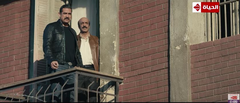 سليمان عيد مع أمير كرارة في مسلسل كلبش 2