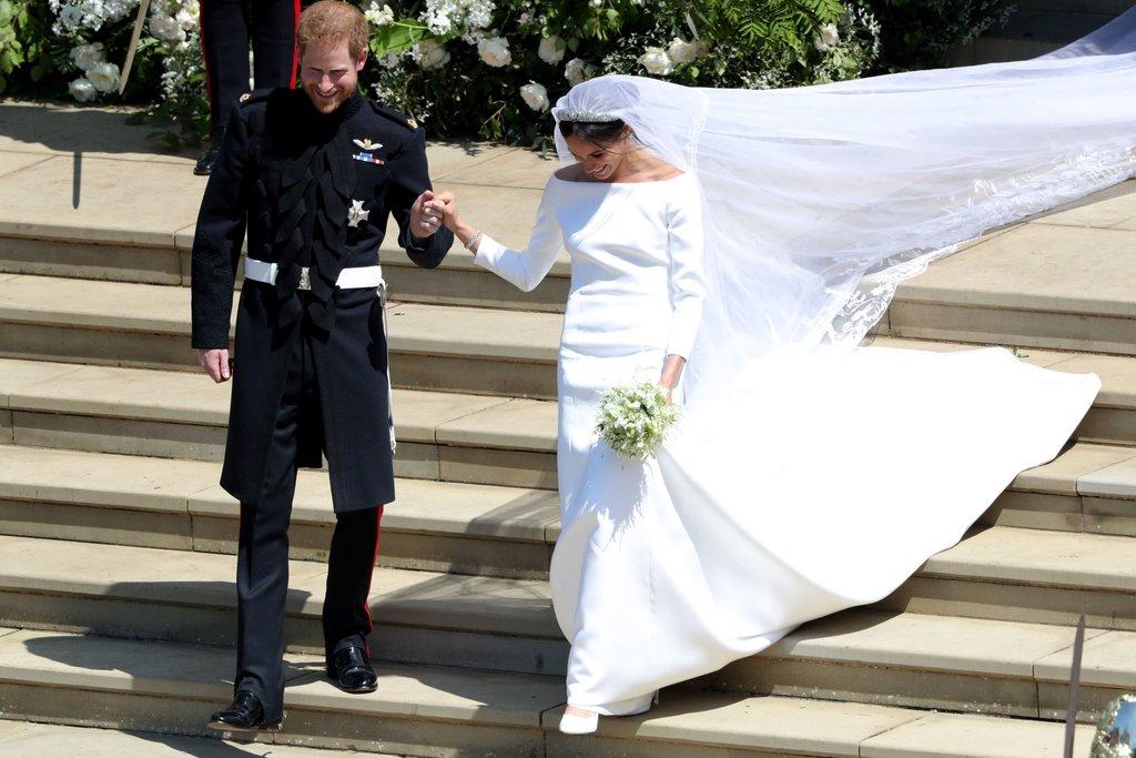 ميجان ماركل بحفل الزفاف  (1)