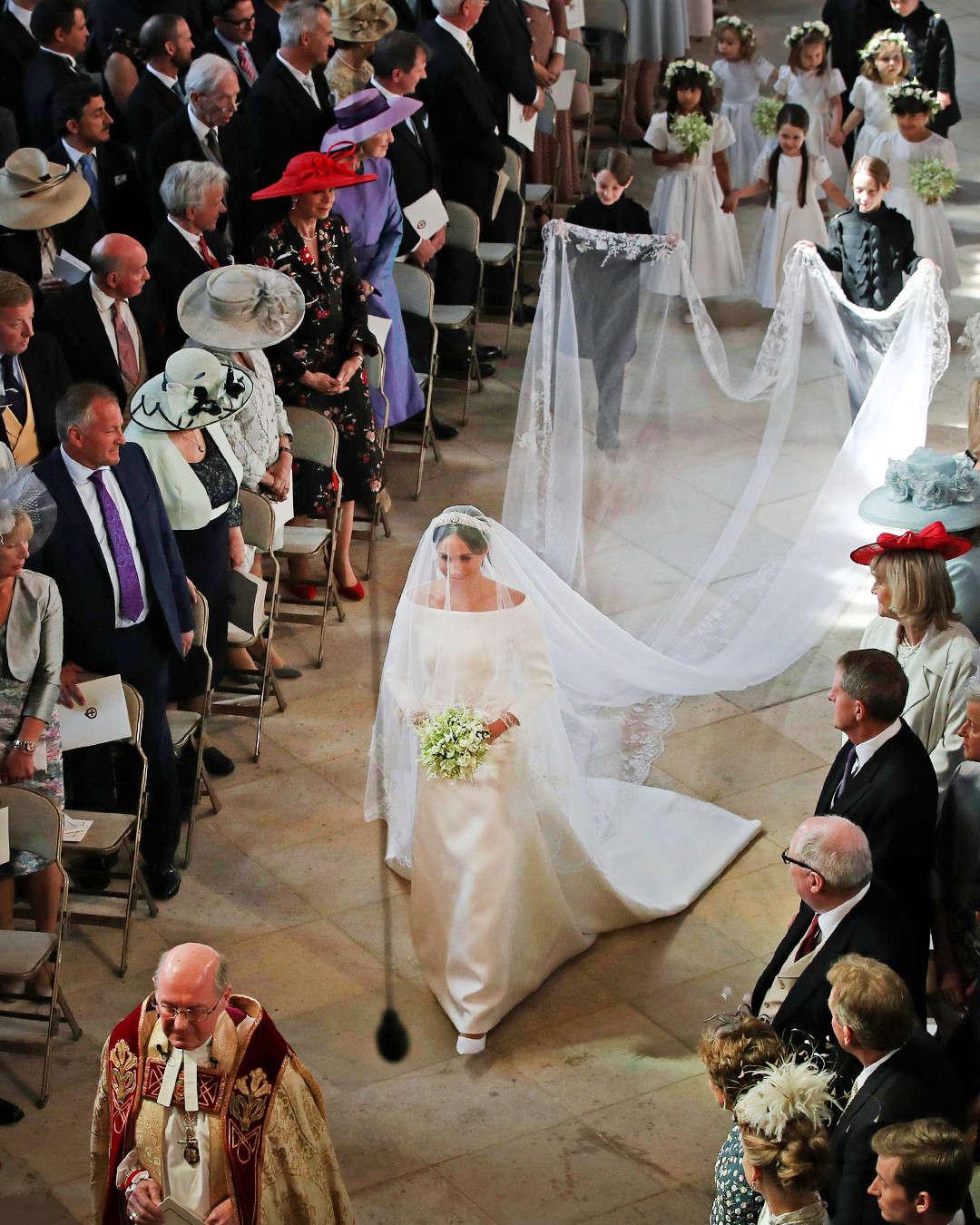 ميجان ماركل بحفل الزفاف  (2)