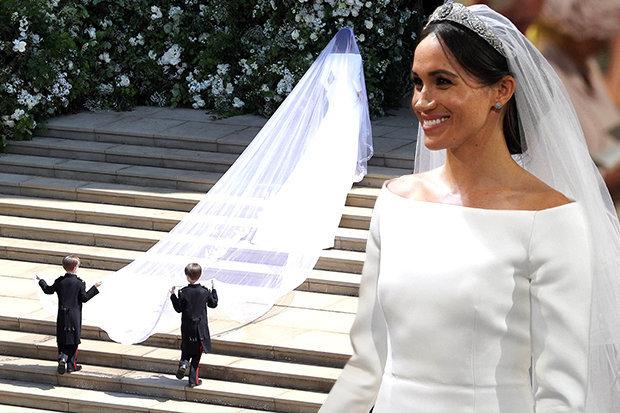 ميجان ماركل بحفل الزفاف  (3)