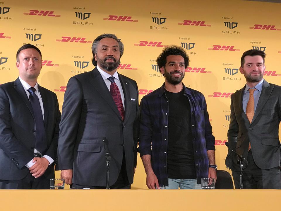 رئيس دى إتش إل محمد صلاح من أفضل لاعبى العالم اليوم السابع