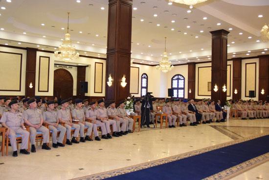 الرئيس عبد الفتاح السيسي مع كبار قادة القوات المسلحة (3)