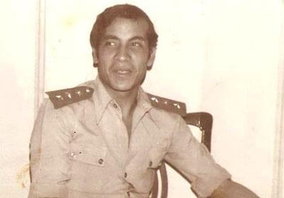 جلال عامر بالملابس العسكرية