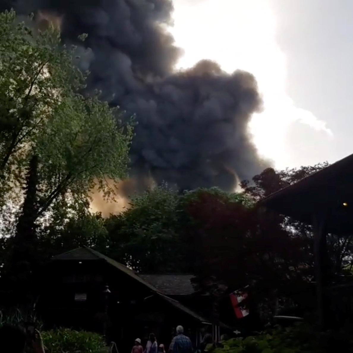 حريق ألمانيا
