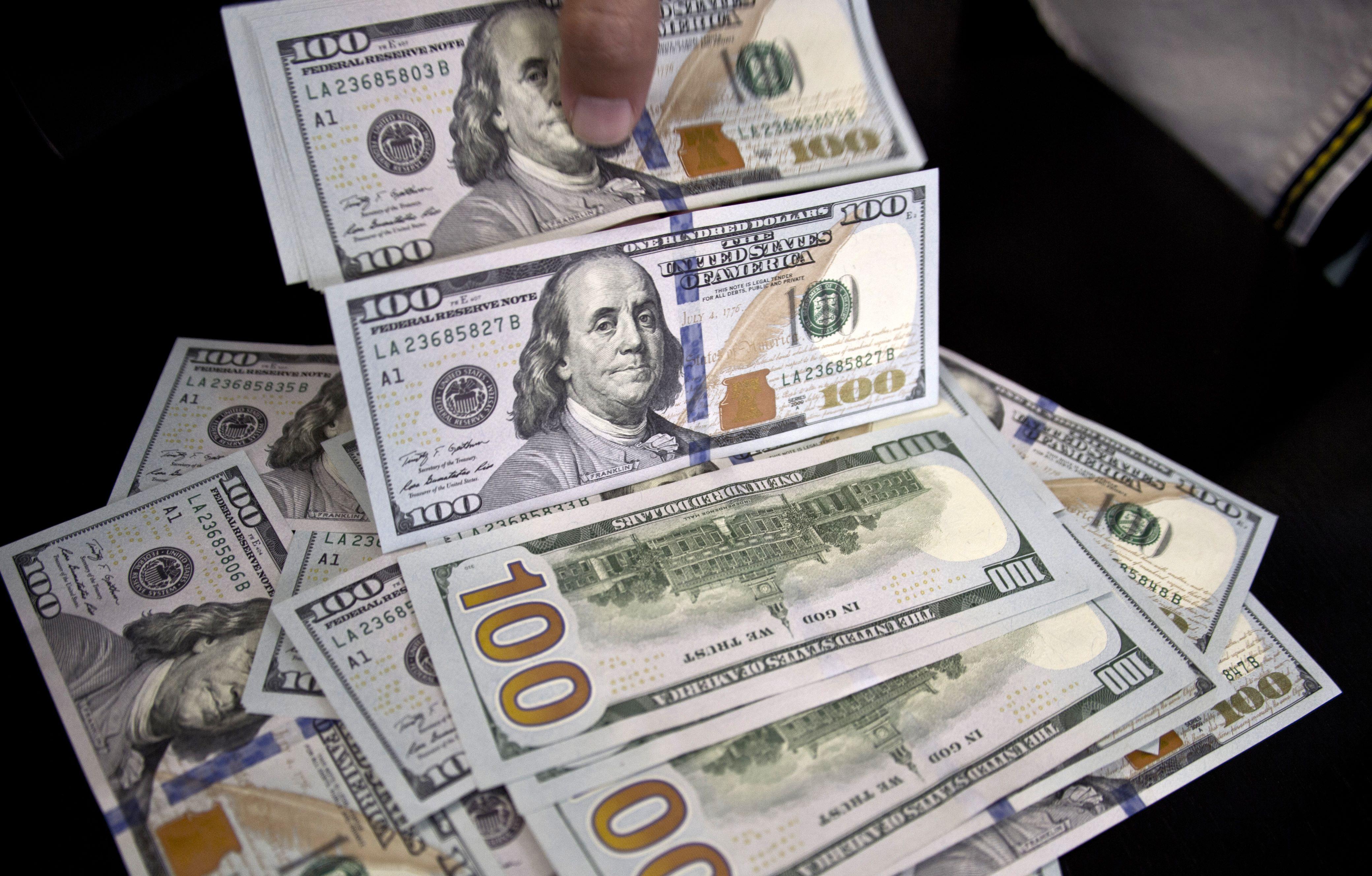 سعر عملة الدولار