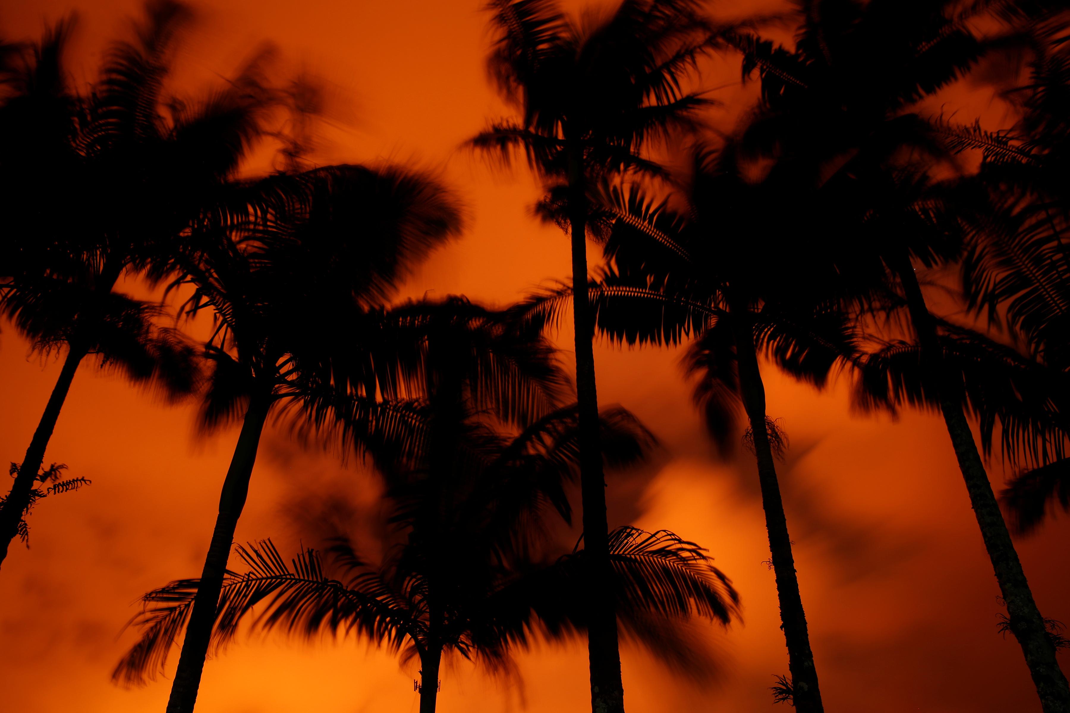 بركان ولاية هاواى الأمريكية