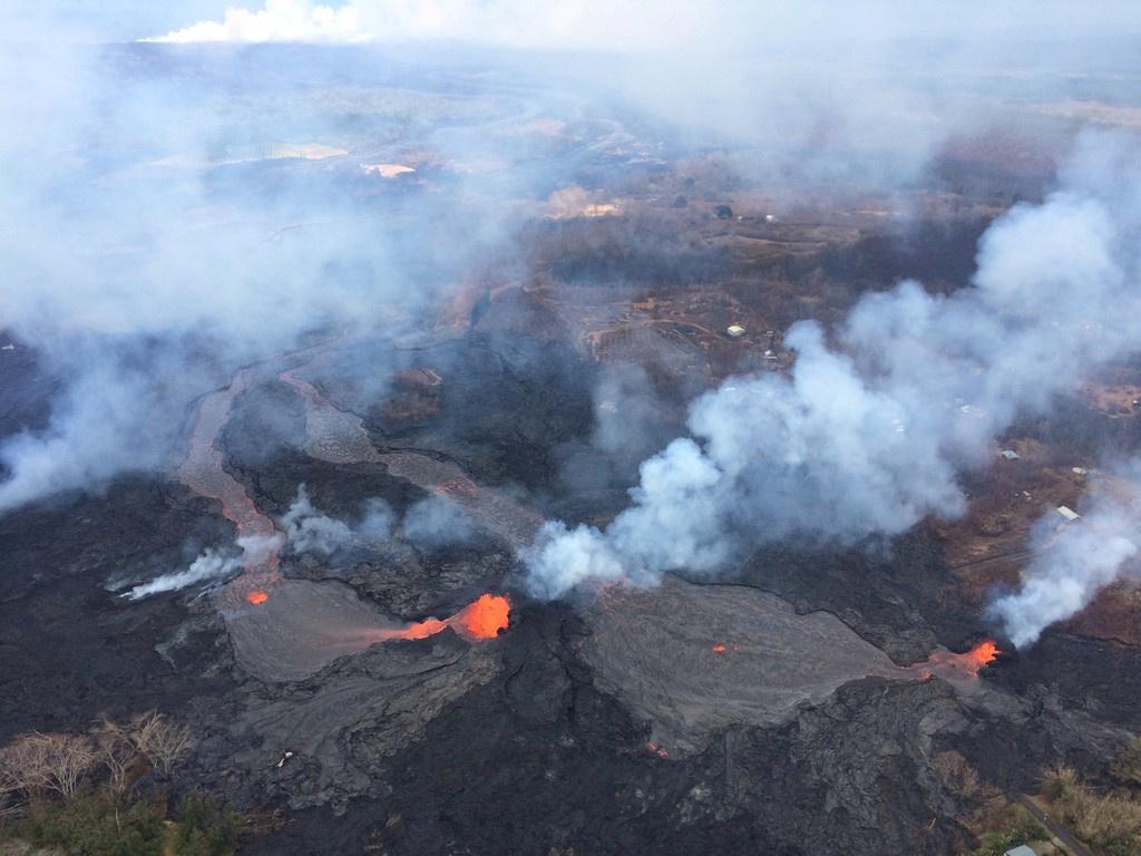 انفجارات بركانية