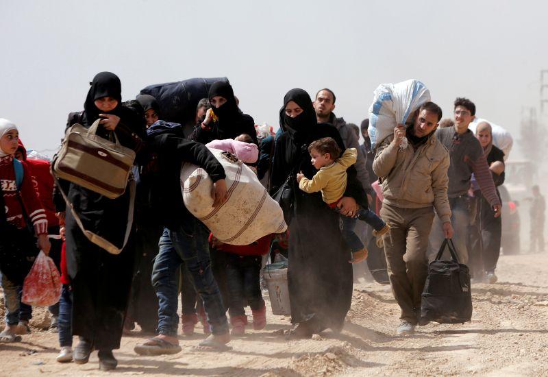 الخروج من الغوطة
